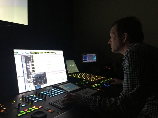 SOUND MIX BY SIMON WRIGHT AT SUITE TV